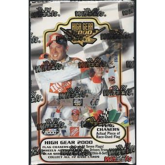 2000 Press Pass Wheels High Gear Racing Hobby Box