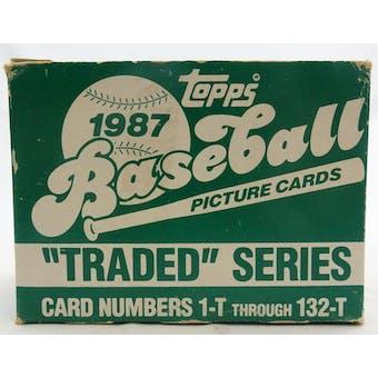 1987 Topps Traded & Rookies Baseball Factory Set (Reed Buy)
