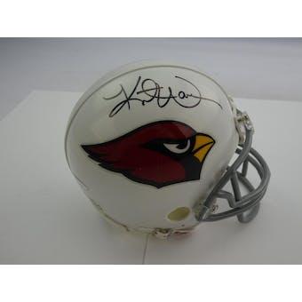 Kurt Warner Autographed Arizona Cardinals Mini Helmet TriStar 7105111 (Reed Buy)