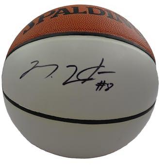 Martell Webster Autographed Spalding White Panel Basketball PSA/DNA D96042 (Reed Buy)