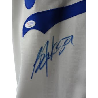 Bo Jackson Autographed Game Issued Kansas City Royals Jersey PSA/DNA D96044 (Reed Buy)