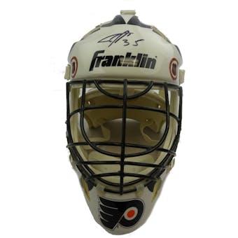 Philadelphia Flyers Goalies Autographed Goalie Mask (5 sigs) JSA BB28740 (Reed Buy)