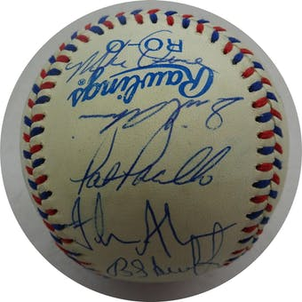 1984 USA Olympic Team Autographed Official Olympic Baseball (21 sigs) JSA BB52669 (Reed Buy)