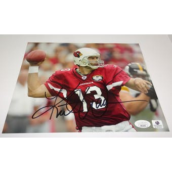 Kurt Warner Autographed Arizona Cardinals 8x10 Photo JSA HH11651 (Reed Buy)