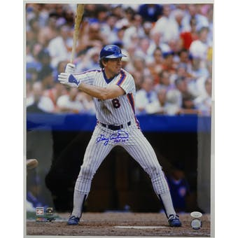 Gary Carter Autographed New York Mets 16x20 Photo (HOF 03) JSA HH11516 (Reed Buy)