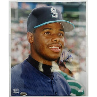 Ken Griffey Jr Autographed Seattle Mariners 16x20 Photo JSA HH11575 (Reed Buy)