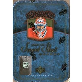 2007/08 Upper Deck Sweet Shot Hockey Hobby Box (Tin)