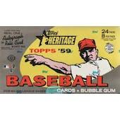 2008 Topps Heritage Baseball Hobby Box