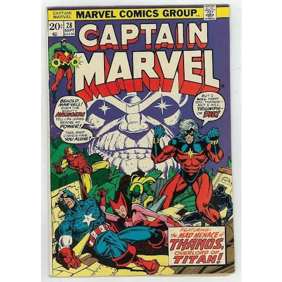 Captain Marvel #28 VF