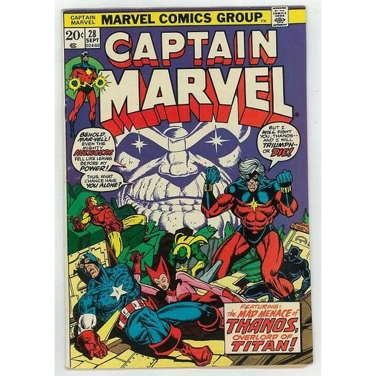 Captain Marvel #28 VF