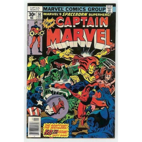Captain Marvel #50 FN