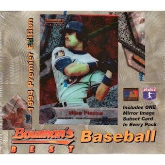 1994 Bowman Best Baseball Retail Box