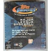 2002 Topps Finest Baseball Hobby 6 Pack Mini Box