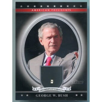 George W. Bush 2009 Topps American Heritage 2000 Presidential Election Florida Ballot Chad /10 (Reed Buy)