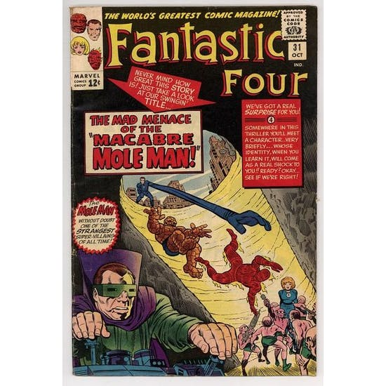 Fantastic Four #31 VG