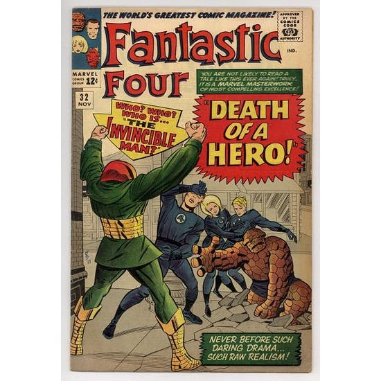 Fantastic Four #32 FN+