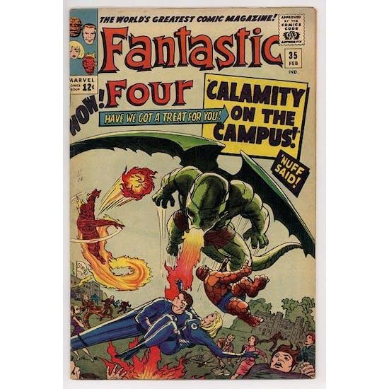 Fantastic Four #35 FN+