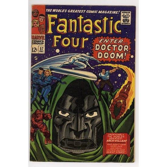 Fantastic Four #57 FN