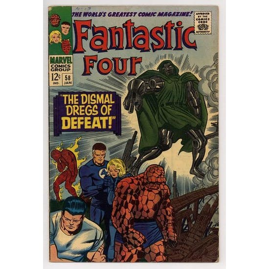 Fantastic Four #58 FN
