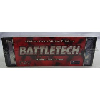 BattleTech Limited 1st Edition Booster Box (WOTC/FASA) (Reed Buy)