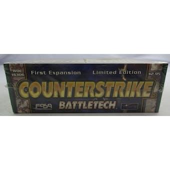 BattleTech Counterstrike Limited Edition Booster Box (WOTC/FASA) (Reed Buy)