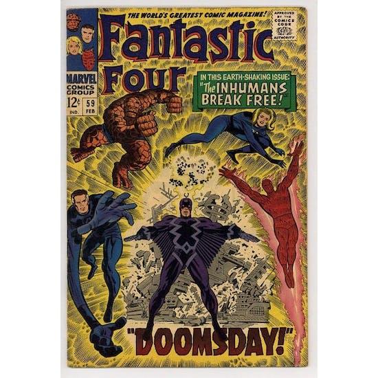 Fantastic Four #59 FN+