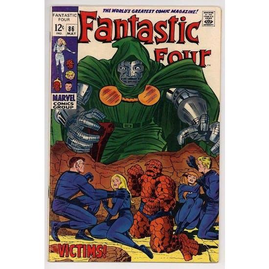 Fantastic Four #86 VF-