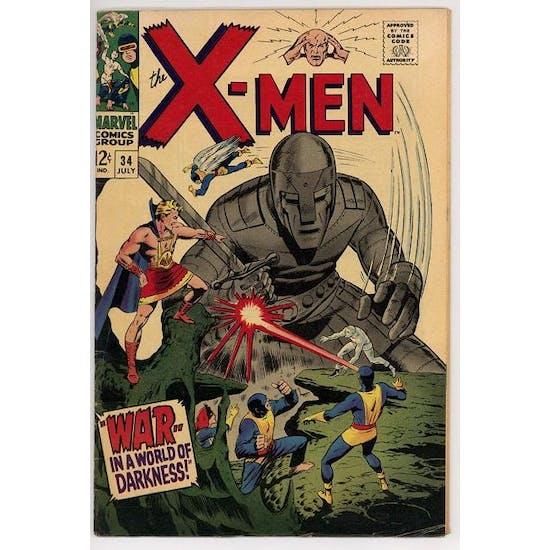 X-Men #34 FN-