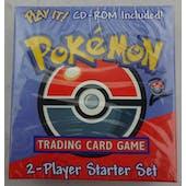 WOTC Pokemon Base Set 2 Two-Player Starter w/CD (Reed Buy)