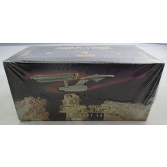 Star Trek Starter Deck Box (1996 Fleer Skybox) (Reed Buy)