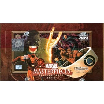 Marvel Masterpieces Series 2 Hobby Box (2008 Upper Deck)
