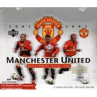 2001 Upper Deck Manchester United Soccer Hobby Box