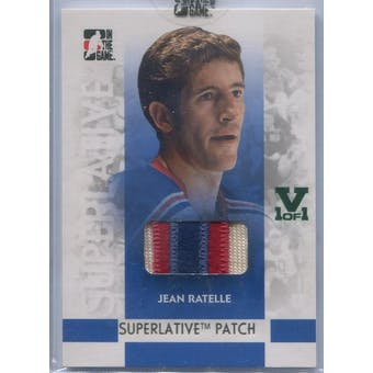 2007/08 In The Game Superlative Patches Gold #SP73 Jean Ratelle Vault 1/1 (Reed Buy)