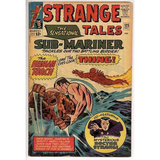 Strange Tales #125 VG+