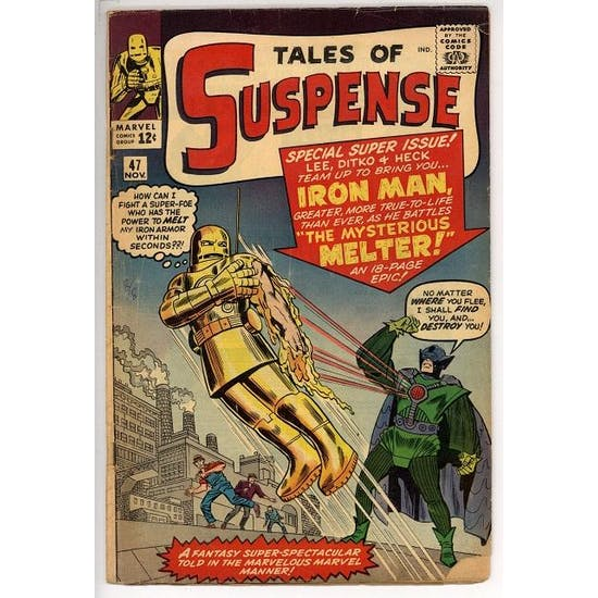 Tales of Suspense #47 GD+