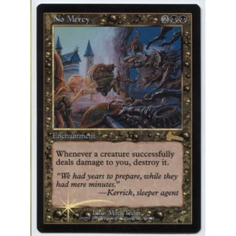 Magic the Gathering Urza's Legacy Single No Mercy FOIL - NEAR MINT (NM)