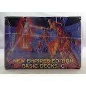 Galactic Empires Universe Edition Starter Decks C (12 decks) (Reed Buy)