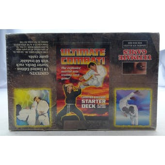 Ultimate Combat Limited Edition Starter Deck Box (10 decks) (Reed Buy)