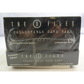 X-Files Starter Deck Box (12 decks) (Reed Buy)