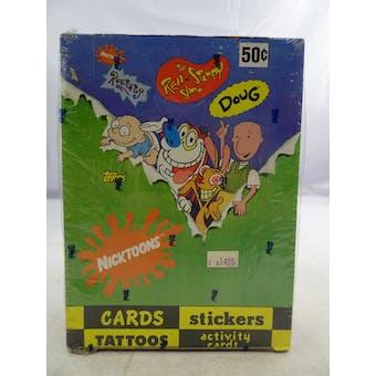 Nicktoons Box (1992 Topps)