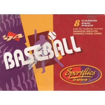 1994 Pinnacle Sportflics Baseball Retail Box