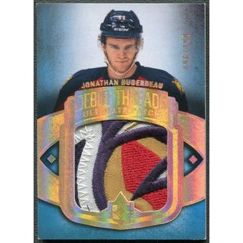 2013-14 Ultimate Collection #UDTJH Jonathan Huberdeau Rookie Debut Threads Patch #096/100