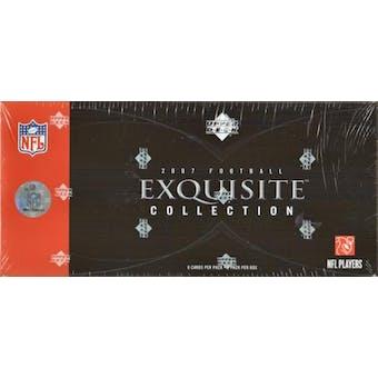 2007 Upper Deck Exquisite Football Hobby Box