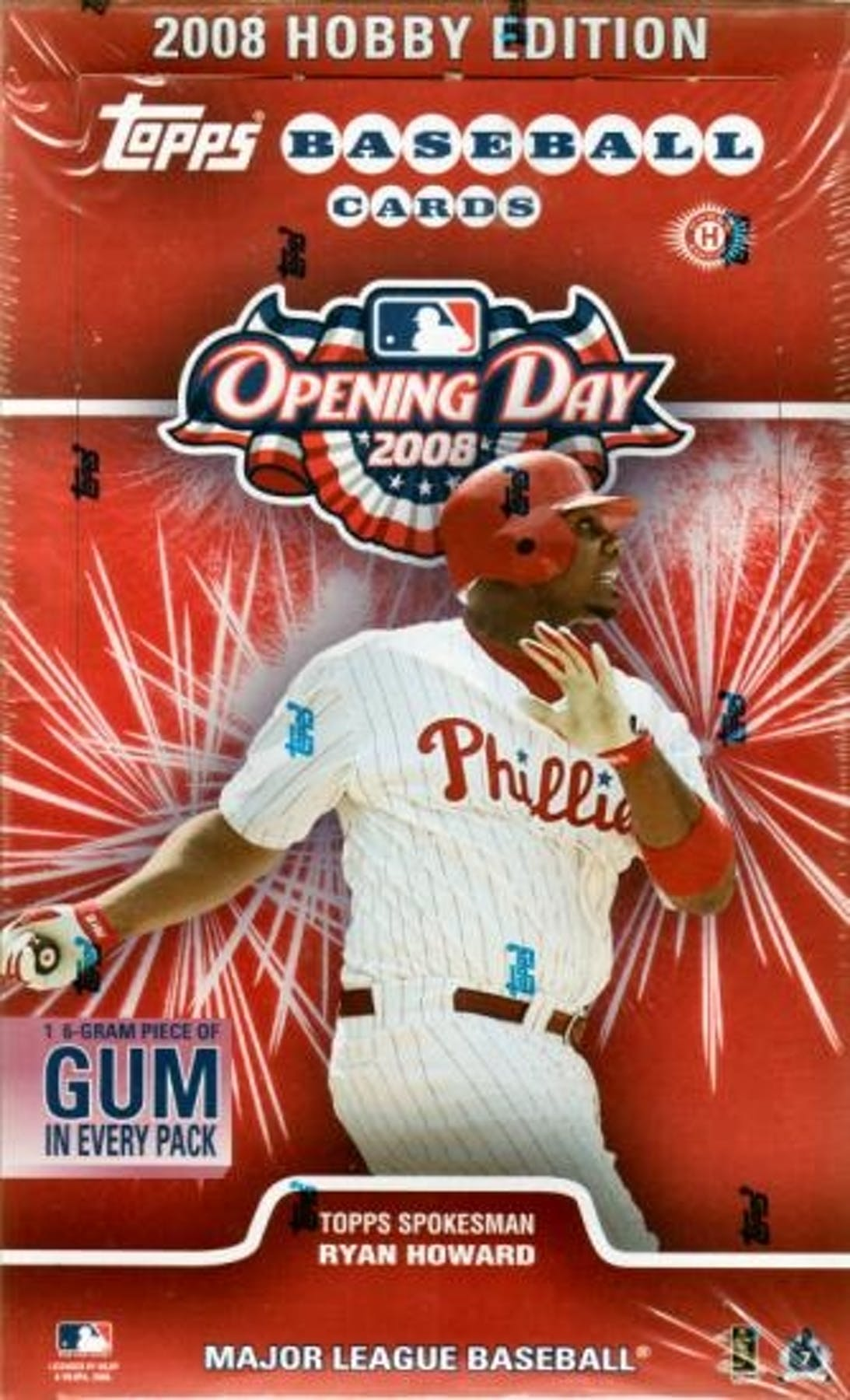 2008 Topps Opening Day Baseball Hobby Box Da Card World