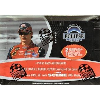 2008 Press Pass Eclipse Racing Hobby Box