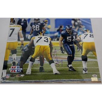 Lofa Tatupu Seahawks Autographed 16x20 Photo PSA/DNA R52706 (No Certification) (Reed Buy)