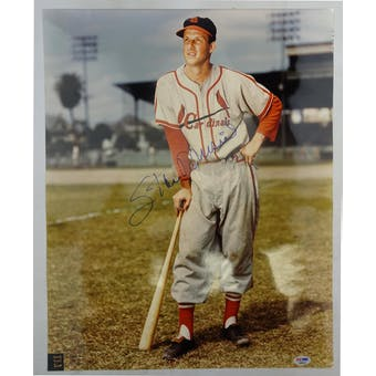 Stan Musial Cardinals Autographed 16x20 Photo PSA/DNA D96035 (Reed Buy)
