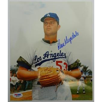 Don Drysdale Dodgers Autographed 8x10 Photo PSA/DNA D57473 (Reed Buy)