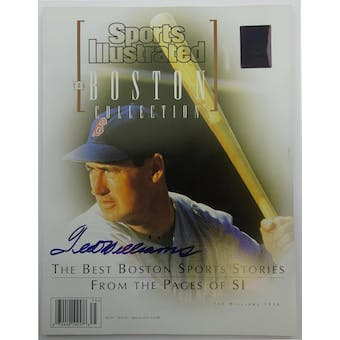 Ted Williams Autographed 1998 Sports Illustrated Boston Collection Green Diamond Holo (Reed Buy)