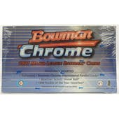 1997 Bowman Chrome Baseball Hobby Box (Reed Buy)